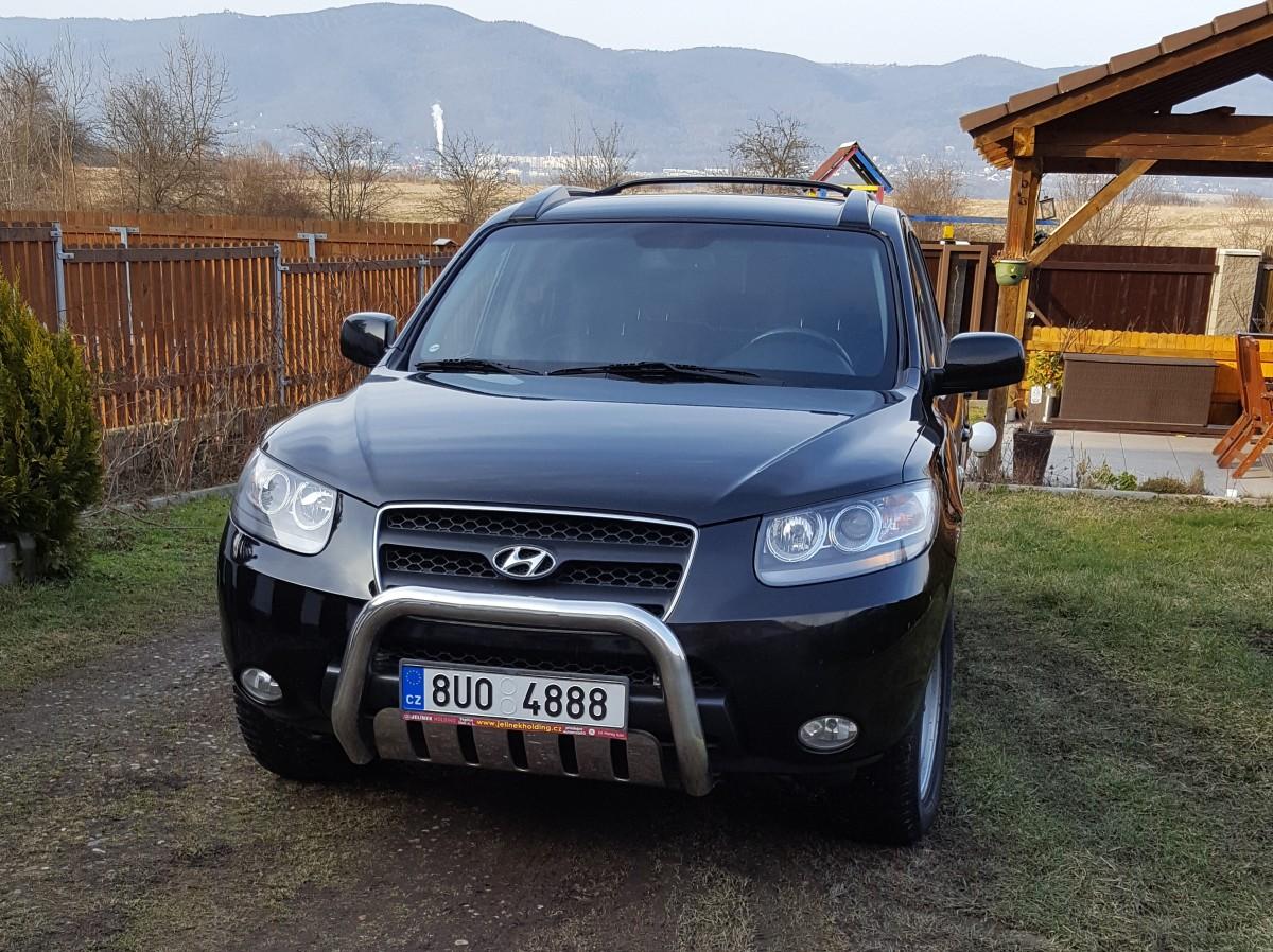 Hyundai Santa Fe, 2008 - celkový pohled